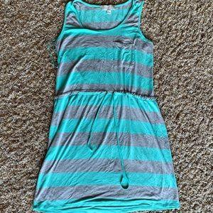 Aqua/Gray Dress